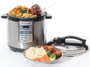 Charles Jacobs Large 8 Litre 7 in 1 Pressure Cooker