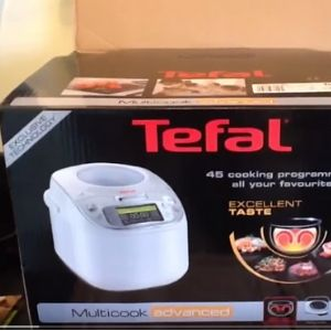 Box of tefal multicook