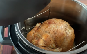 Instant pot browned chicken